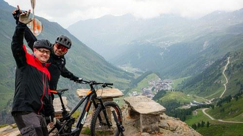 Touren mit den E-Bike Guides